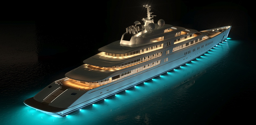 Azzam – $600 Million-Beautiful yacht