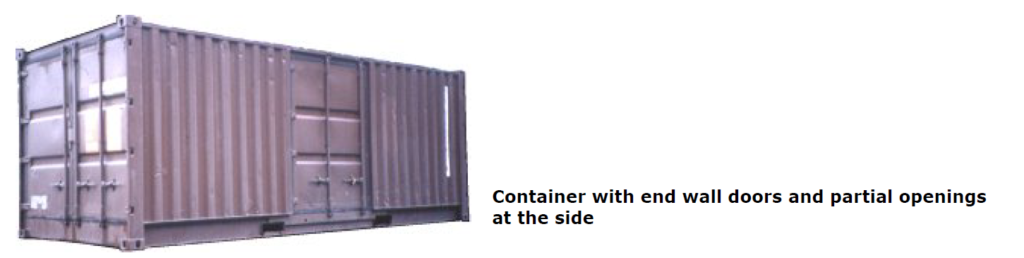 container-wall doors
