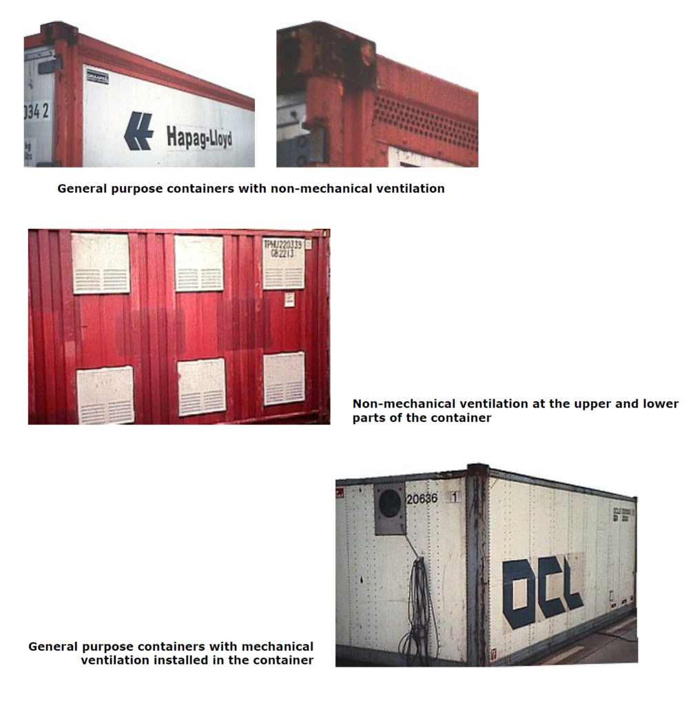 5.Ventilated containers