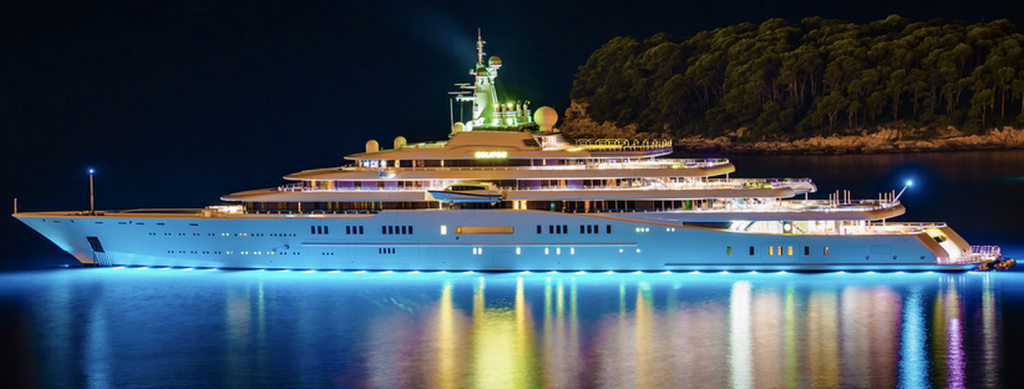 Eclipse – $1.5 Billion-Most expensive yacht in the world