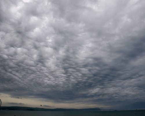 Nimbostratus clouds