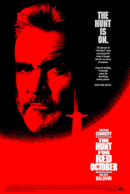 The Hunt for red October-submarine-movies