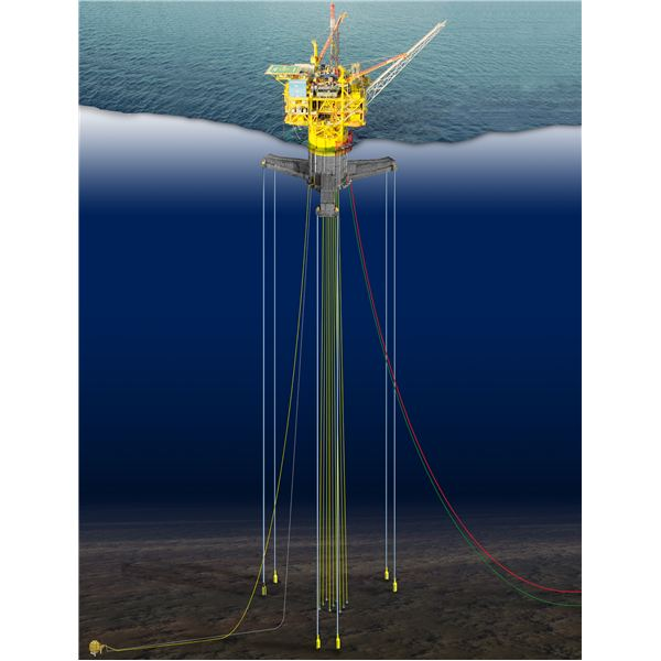 Tension-Leg Platform OFFSHORE STRUCTURES