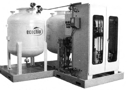 Chemical treatment ballast water