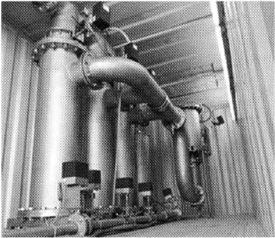 Physical treatment ballast water