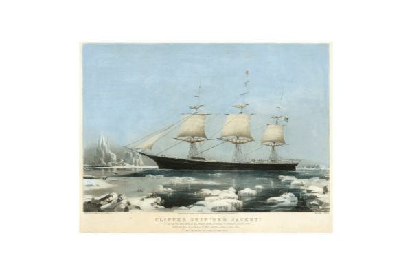CLIPPER SHIP red jacket
