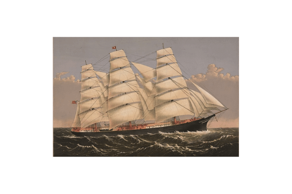 Clipper Ship Three Brothers